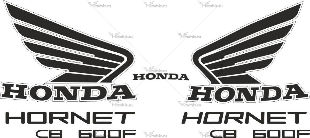 Комплект наклеек Honda CB-600-F HORNET 2007-2013