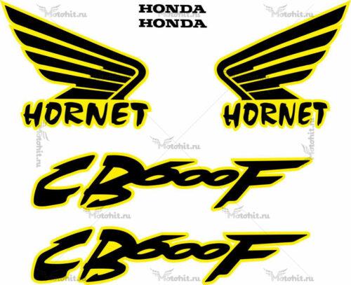 Комплект наклеек Honda CB-600-F HORNET Любой год