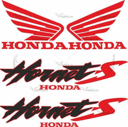 Комплект наклеек Honda CB-600-S HORNET 2000-2003