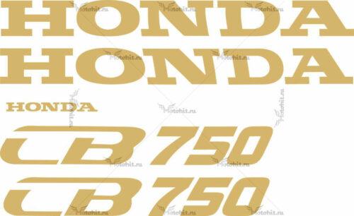 Комплект наклеек Honda CB-750