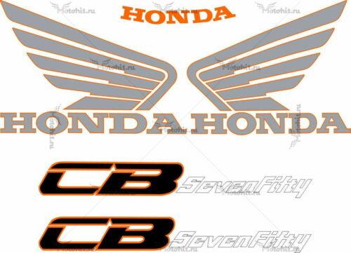 Комплект наклеек Honda CB-750 1982-2002 F2