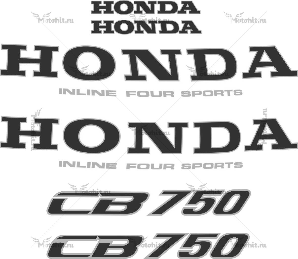 Комплект наклеек Honda CB-750 1992-2001