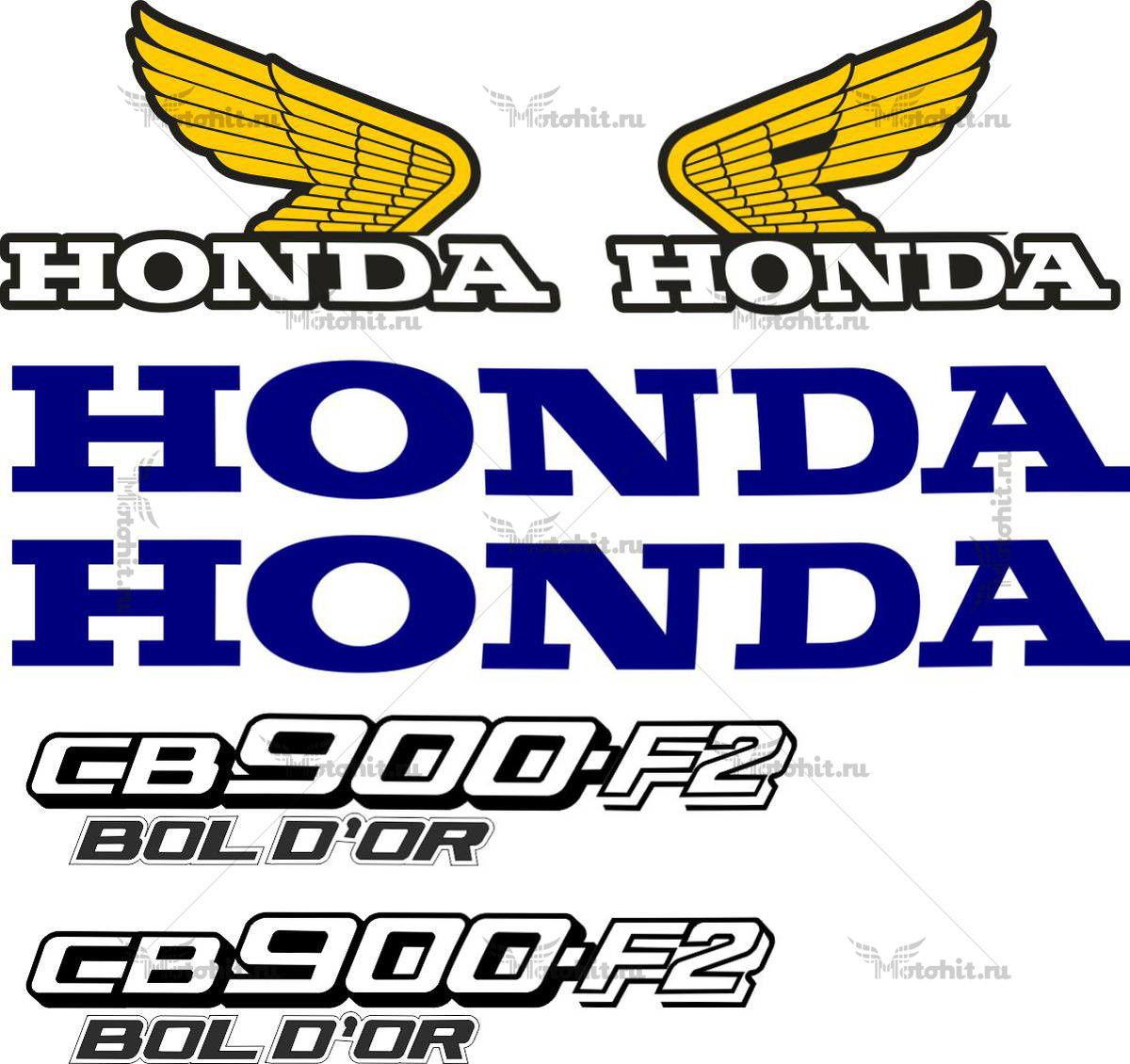 Комплект наклеек Honda CB-900-F2 1978