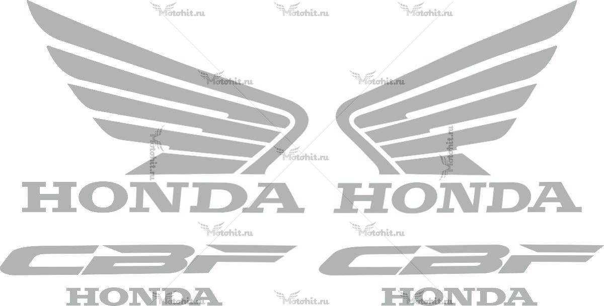 Комплект наклеек Honda СBF-250 2007-2009
