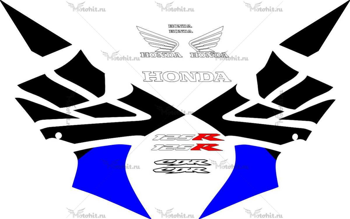 Комплект наклеек Honda CBR-125-R 2004-2014
