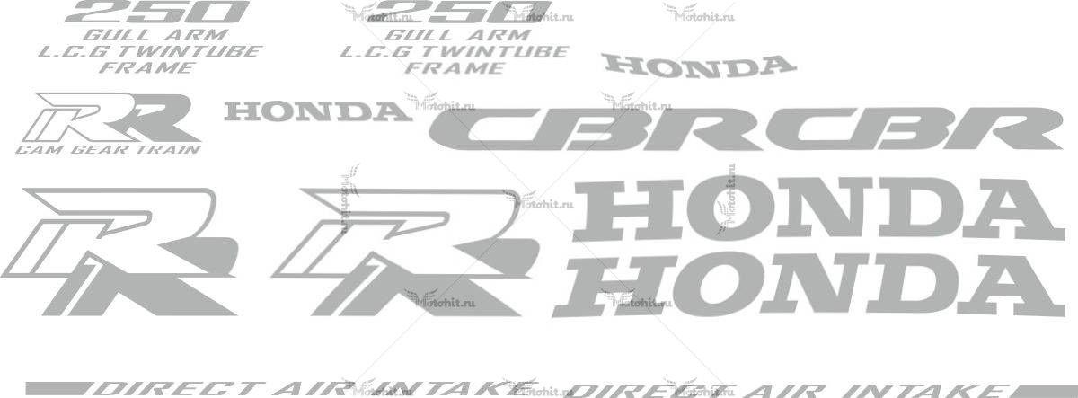 Комплект наклеек Honda CBR-250 1993