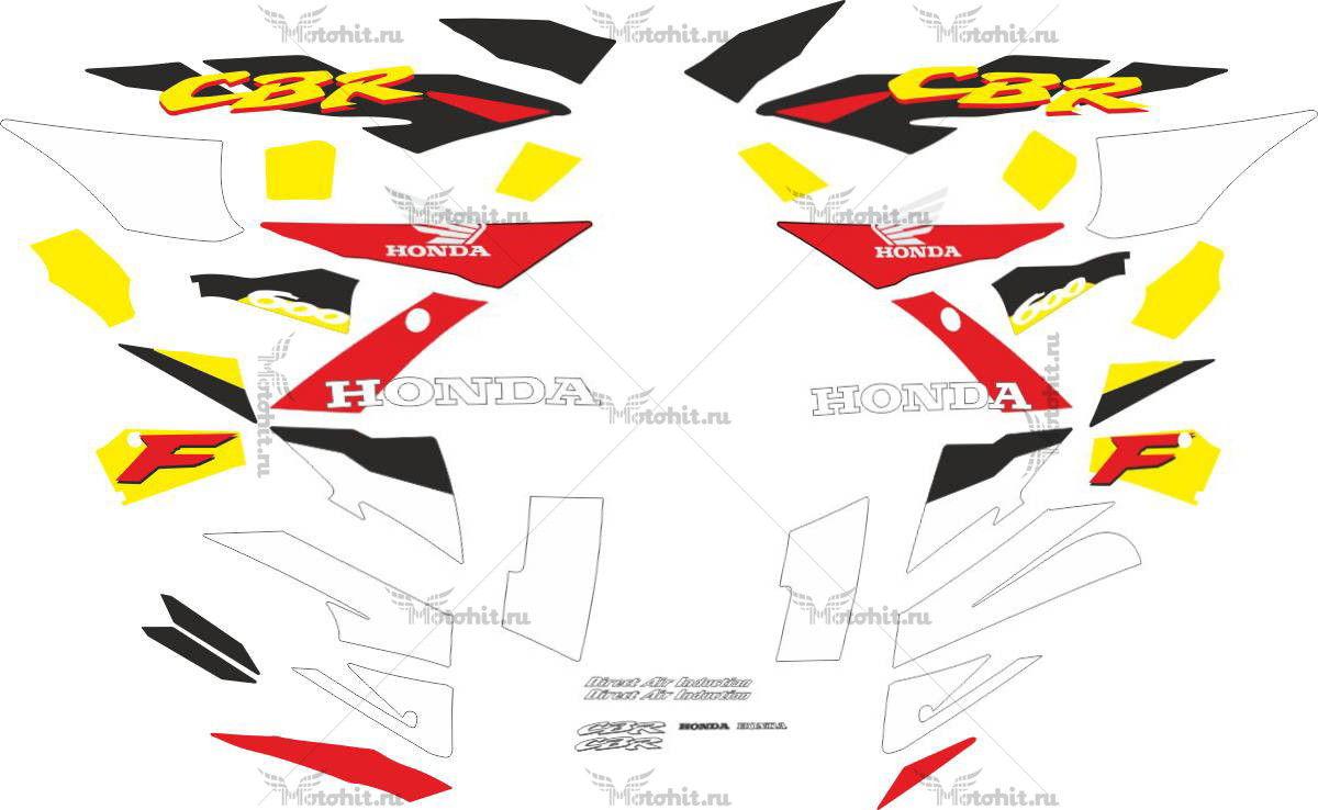 Комплект наклеек Honda CBR-600-F 1995-1996