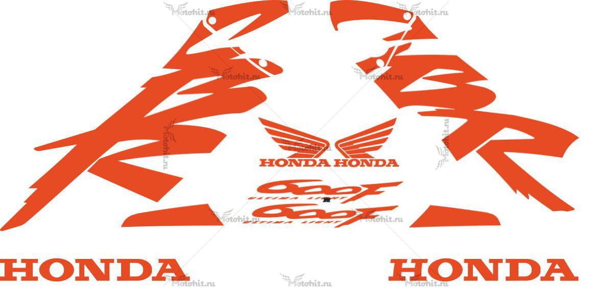 Комплект наклеек Honda CBR-600-F 1999-2000
