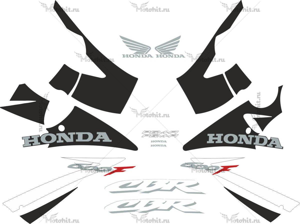 Комплект наклеек Honda CBR-600-F 2002-2