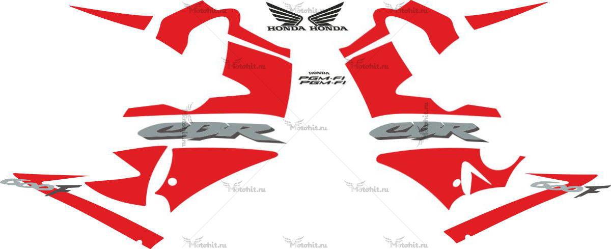 Комплект наклеек Honda CBR-600-F 2003