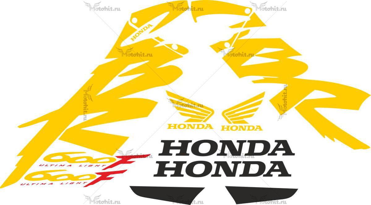 Комплект наклеек Honda CBR-600-F 2004