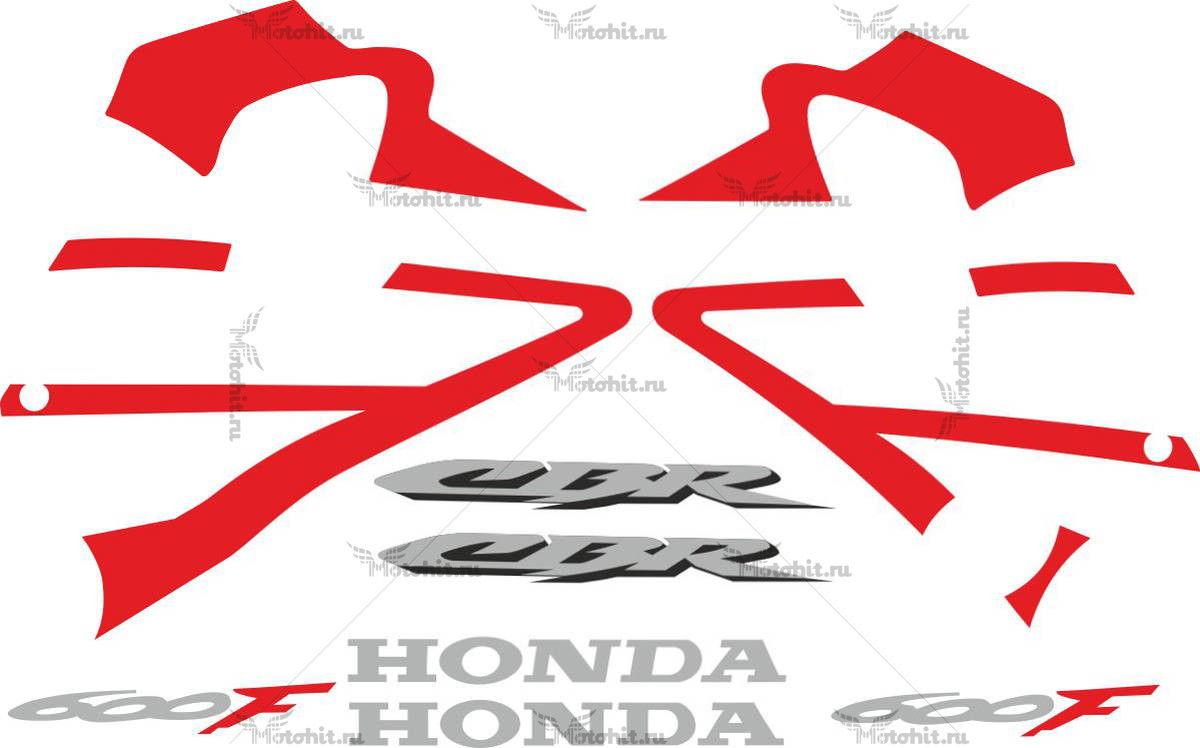 Комплект наклеек Honda CBR-600-F 2006