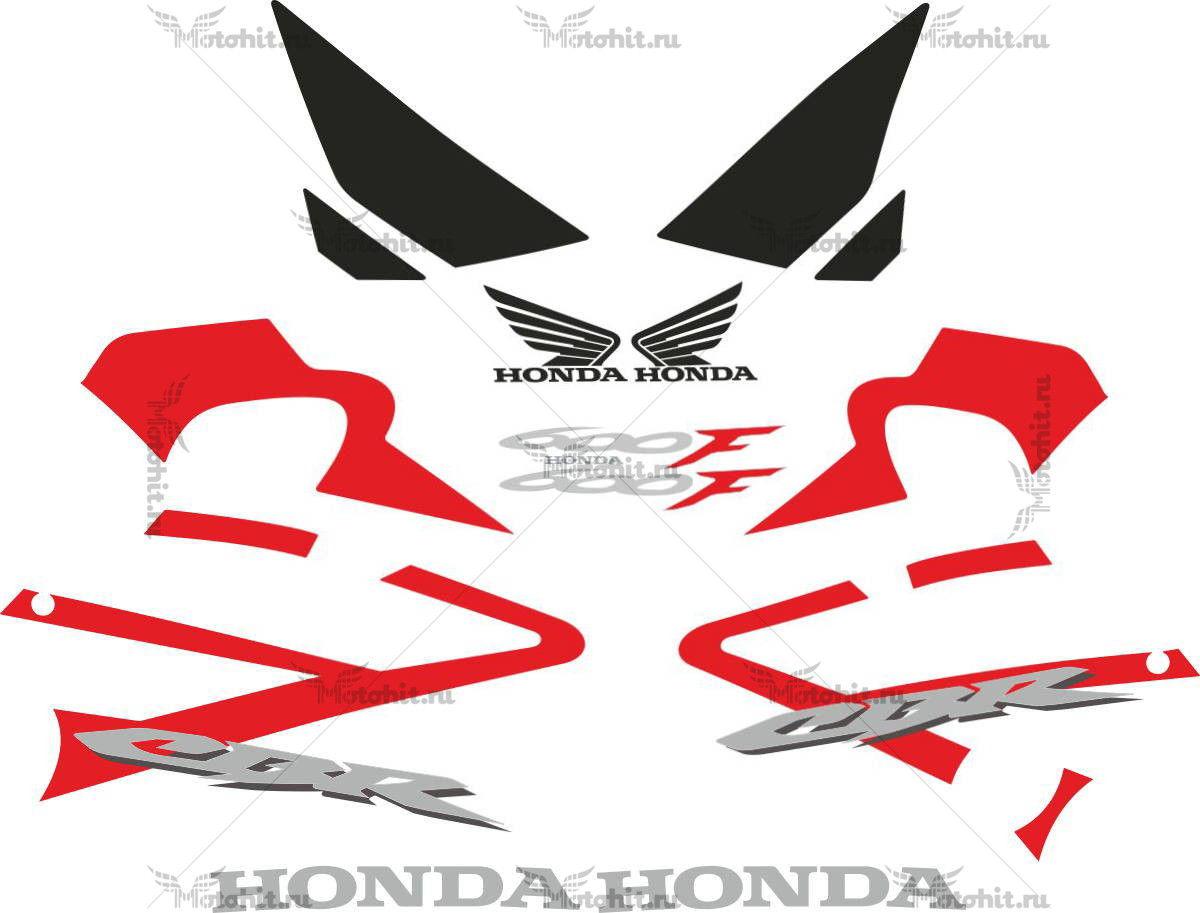 Комплект наклеек Honda CBR-600-F 2006-2007