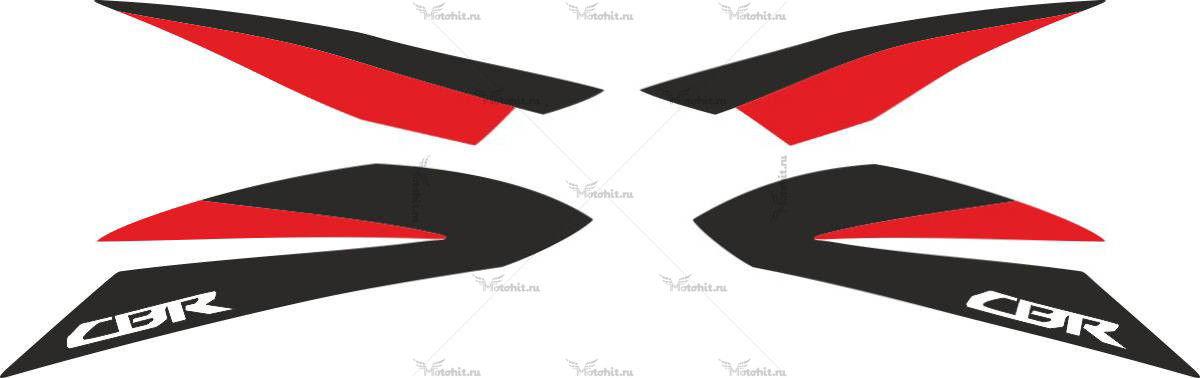 Комплект наклеек Honda CBR-600-F 2011
