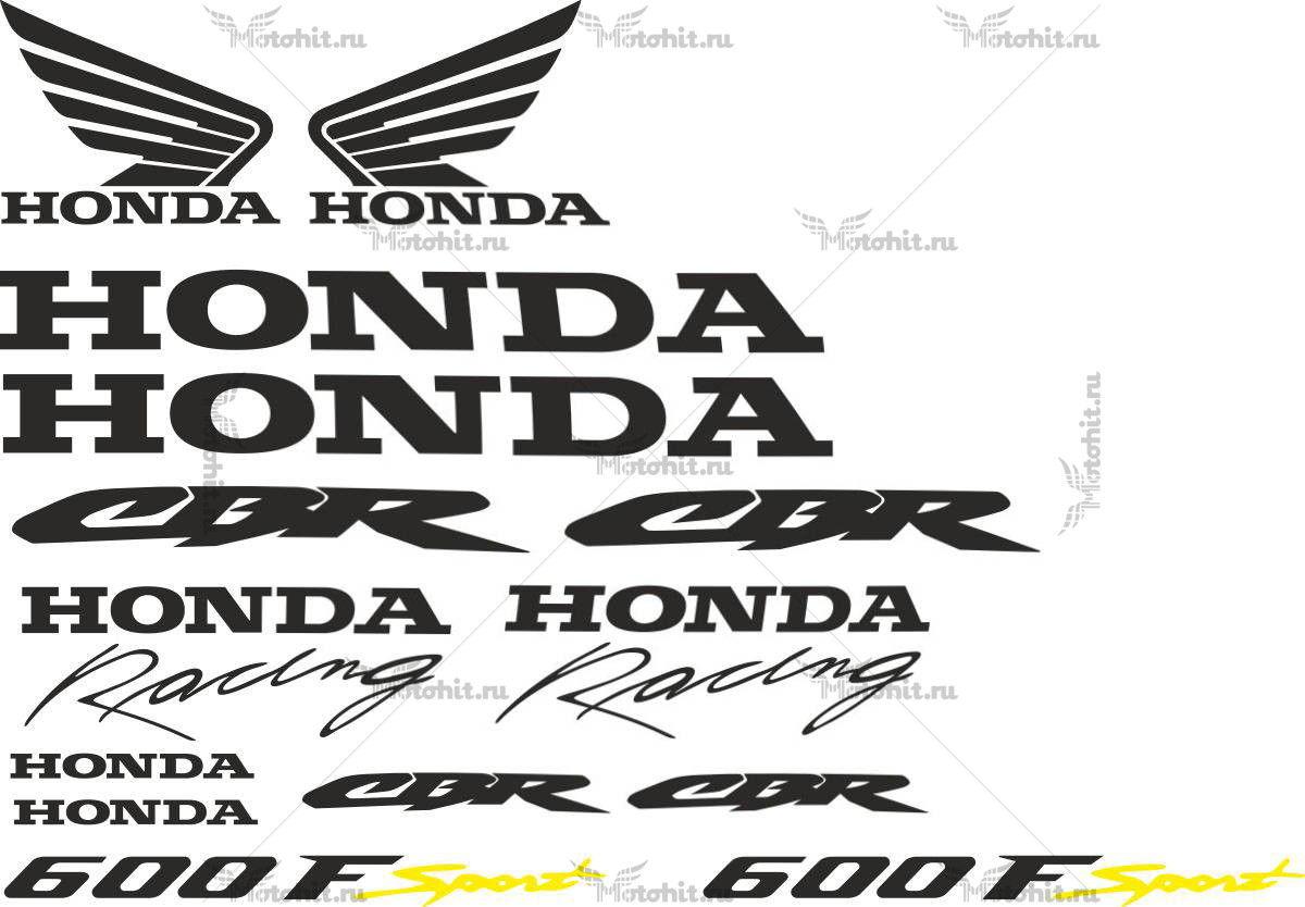 Комплект наклеек Honda CBR-600-F SPORT