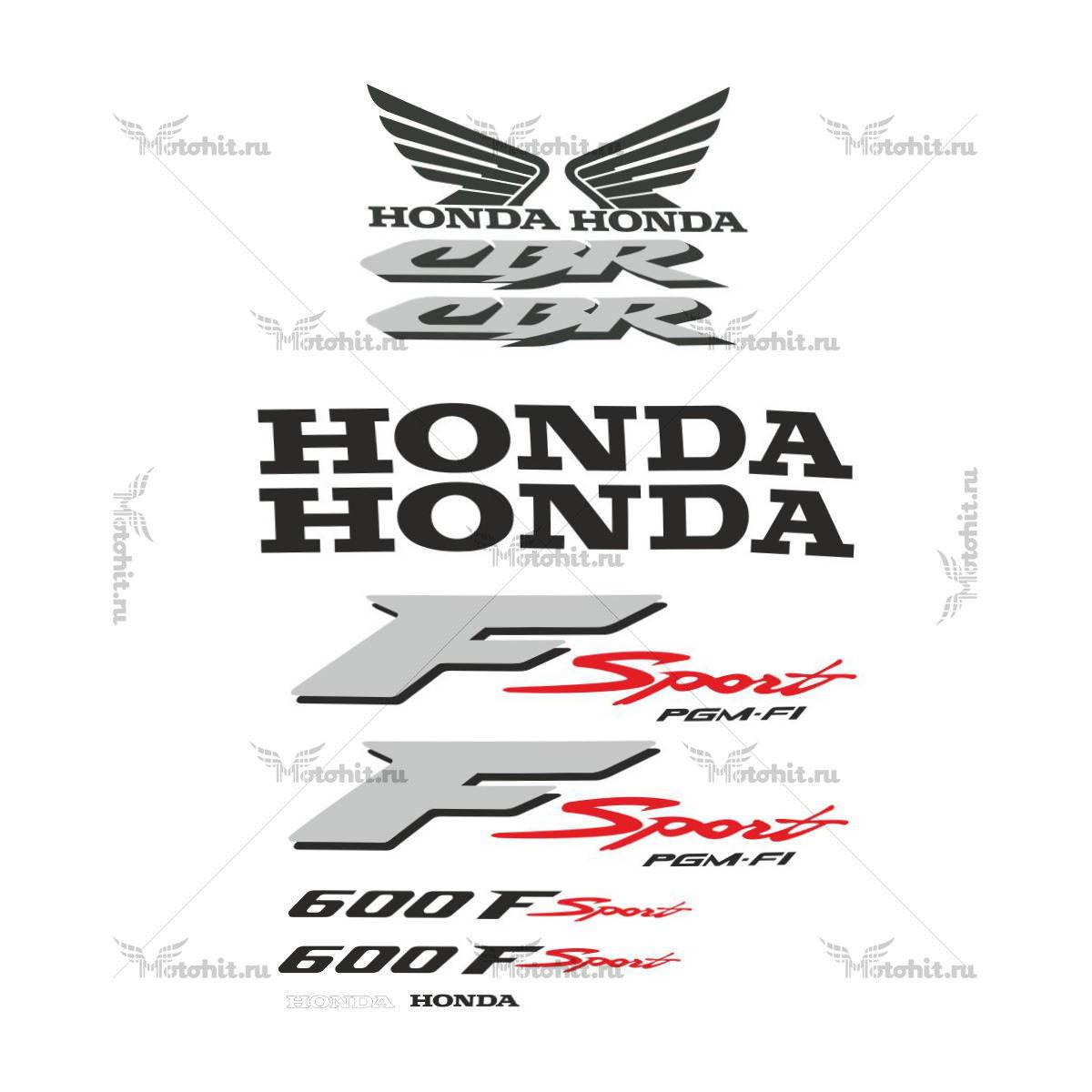 Комплект наклеек Honda CBR-600-F SPORT-2