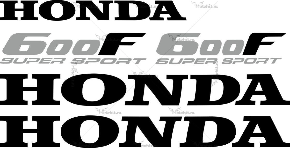 Комплект наклеек Honda CBR-600-F SUPER-SPORT