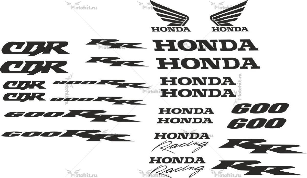 Комплект наклеек Honda CBR-600-F2-2