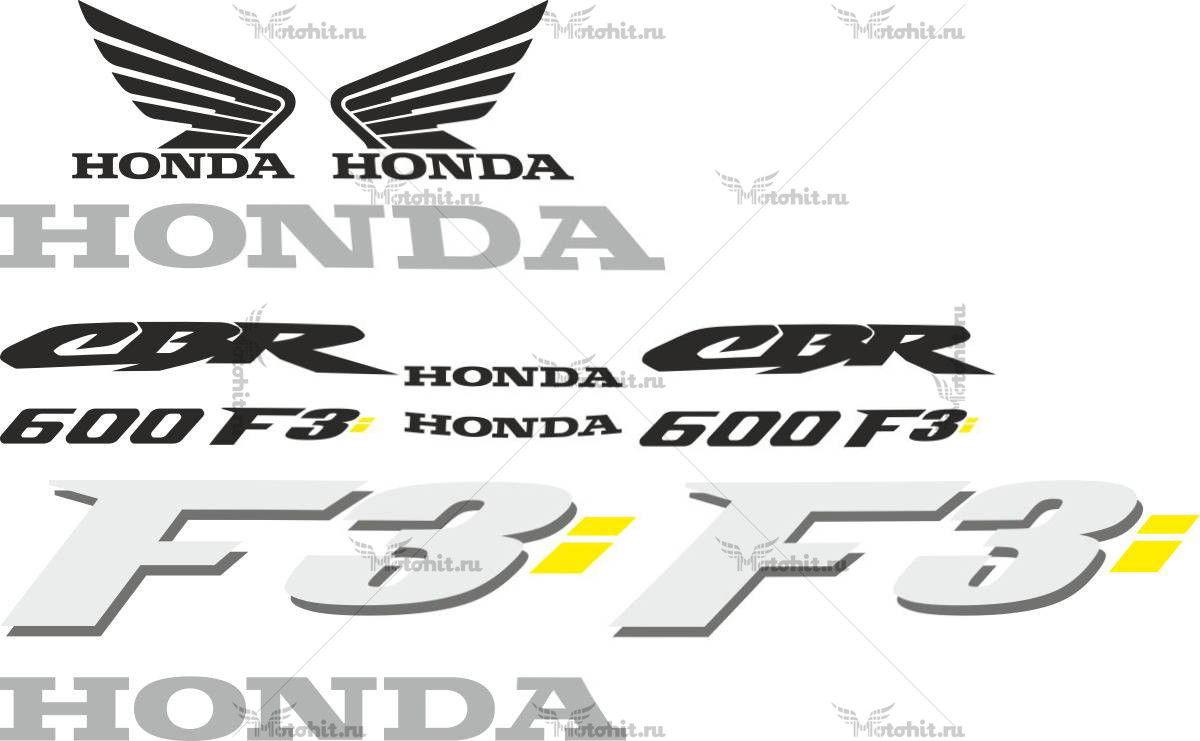 Комплект наклеек Honda CBR-600-F3
