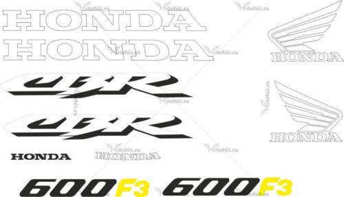 Комплект наклеек Honda CBR-600-F3 1997