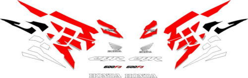Комплект наклеек Honda CBR-600-F3 1998 FULL