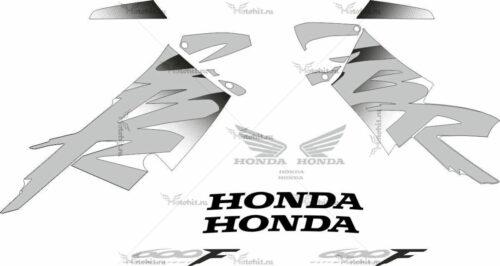 Комплект наклеек Honda CBR-600-F4 1999-2000 FOR-YELLOW