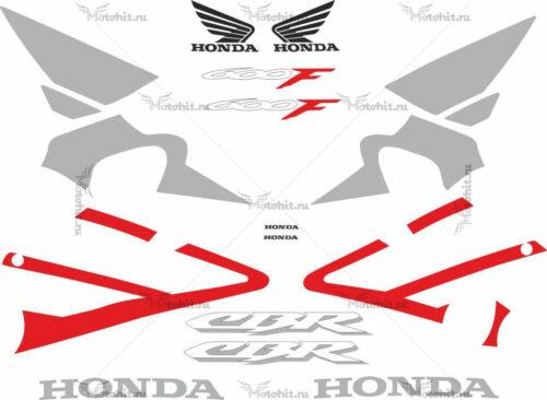 Комплект наклеек Honda CBR-600-F4I 2001-2006