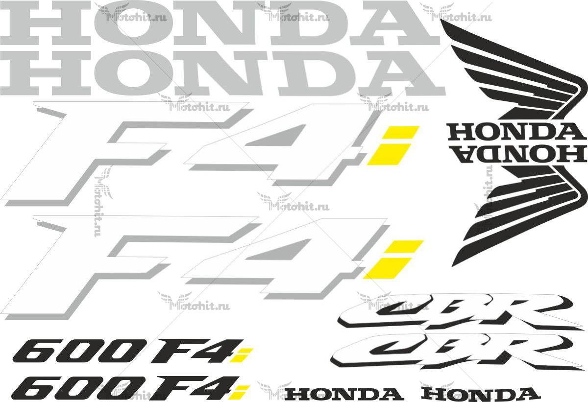 Комплект наклеек Honda CBR-600-F4I 2001 TXT