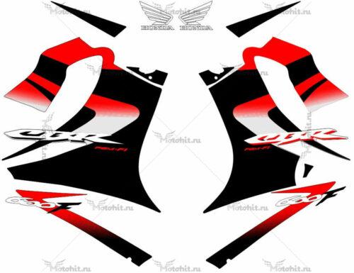 Комплект наклеек Honda CBR-600-F4I 2002-2006 BLACK