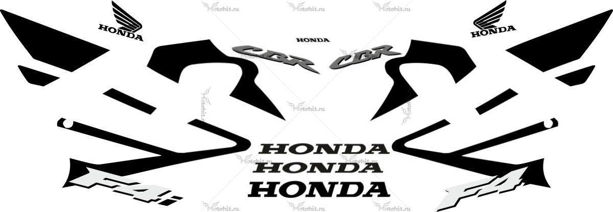 Комплект наклеек Honda CBR-600-F4I 2004