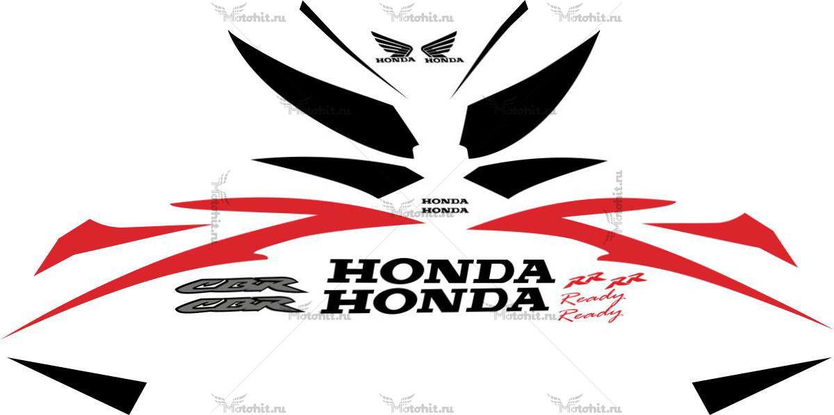 Комплект наклеек Honda CBR-600 2007-2008