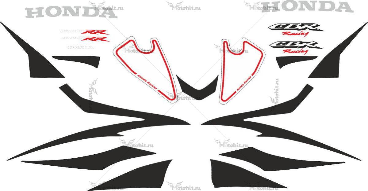 Комплект наклеек Honda CBR-600-RR 2007