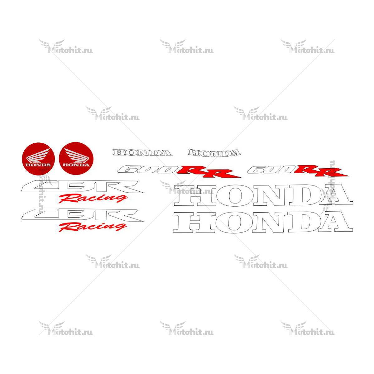 Комплект наклеек Honda CBR-600-RR 2008