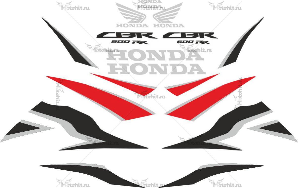 Комплект наклеек Honda CBR-600-RR 2009-2010