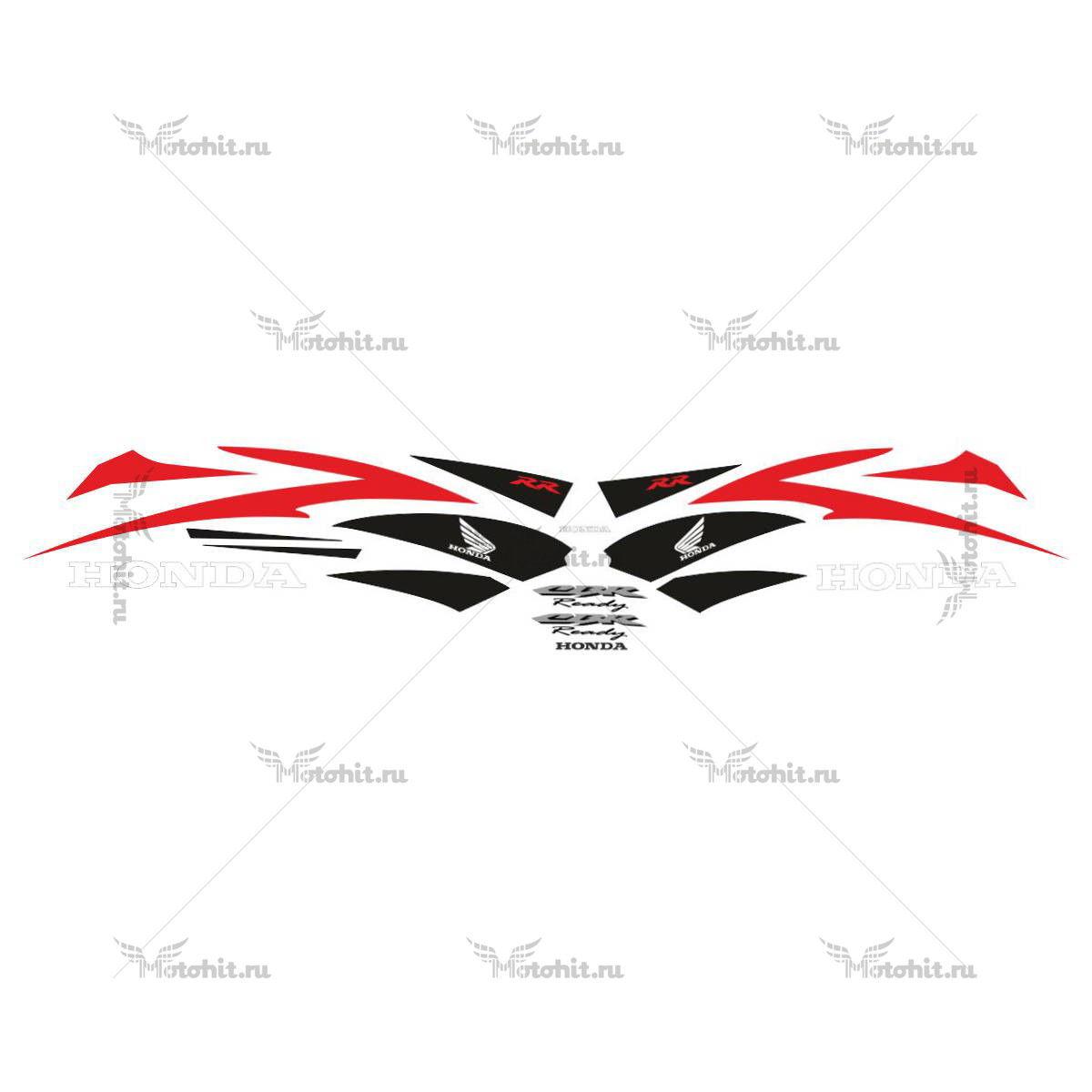 Комплект наклеек Honda CBR-600-RR RED