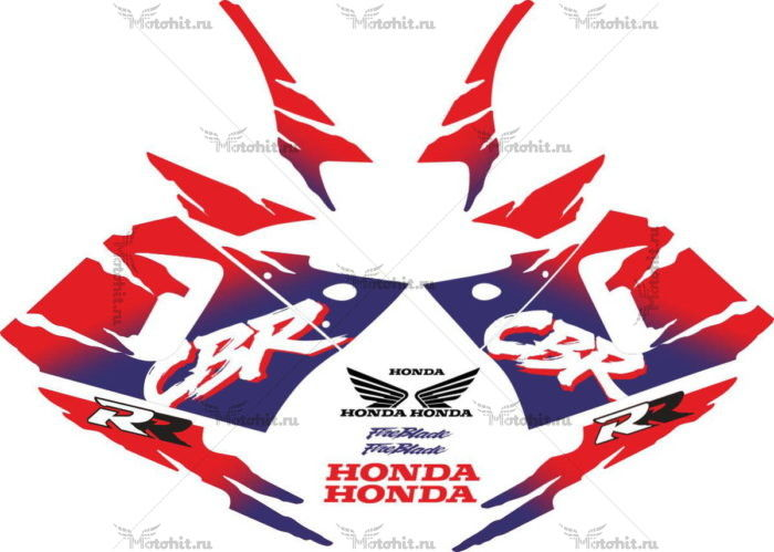 Комплект наклеек Honda CBR-900-RR 1994-1995