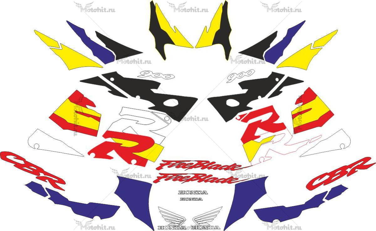 Комплект наклеек Honda CBR-900-RR 1996-1997