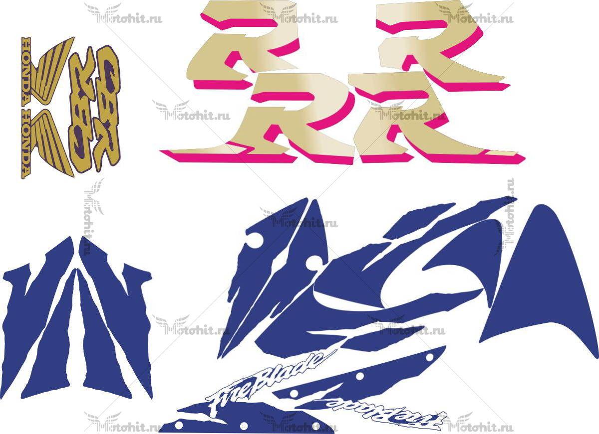 Комплект наклеек Honda CBR-900-RR 1998-1999