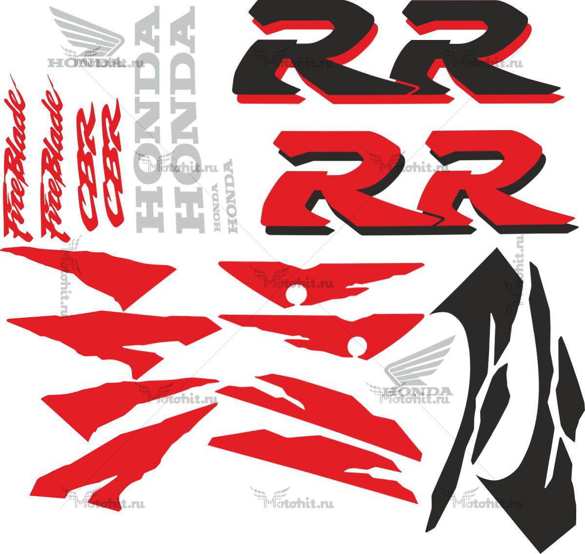 Комплект наклеек Honda CBR-900-RR 1998 FULL