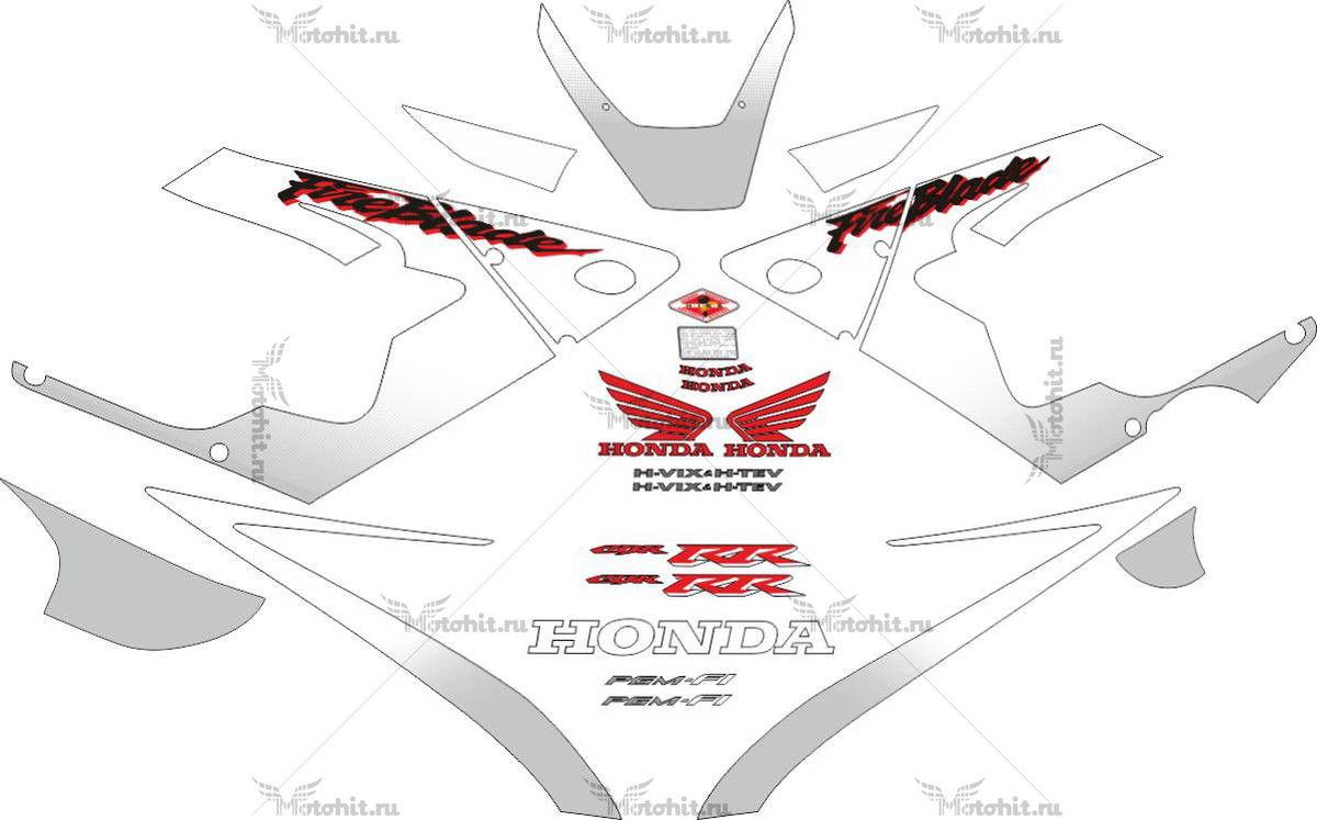 Комплект наклеек Honda CBR-900-RR 2000-2001