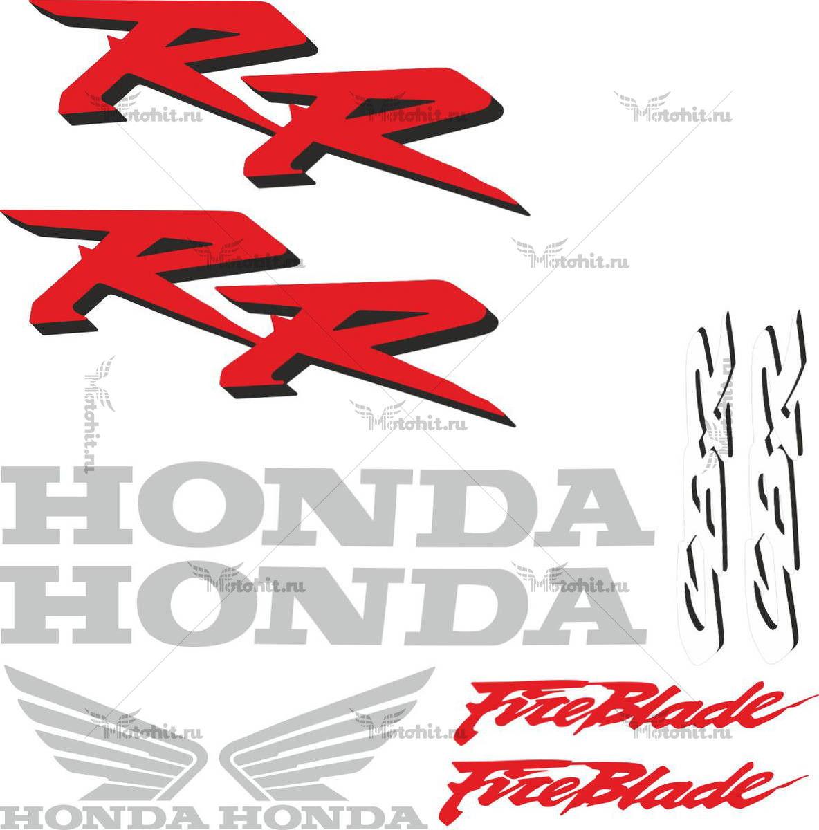 Комплект наклеек Honda CBR-900-RR 2002-2003