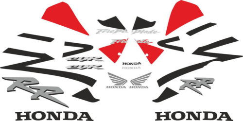 Комплект наклеек Honda CBR-954-RR (29-19)