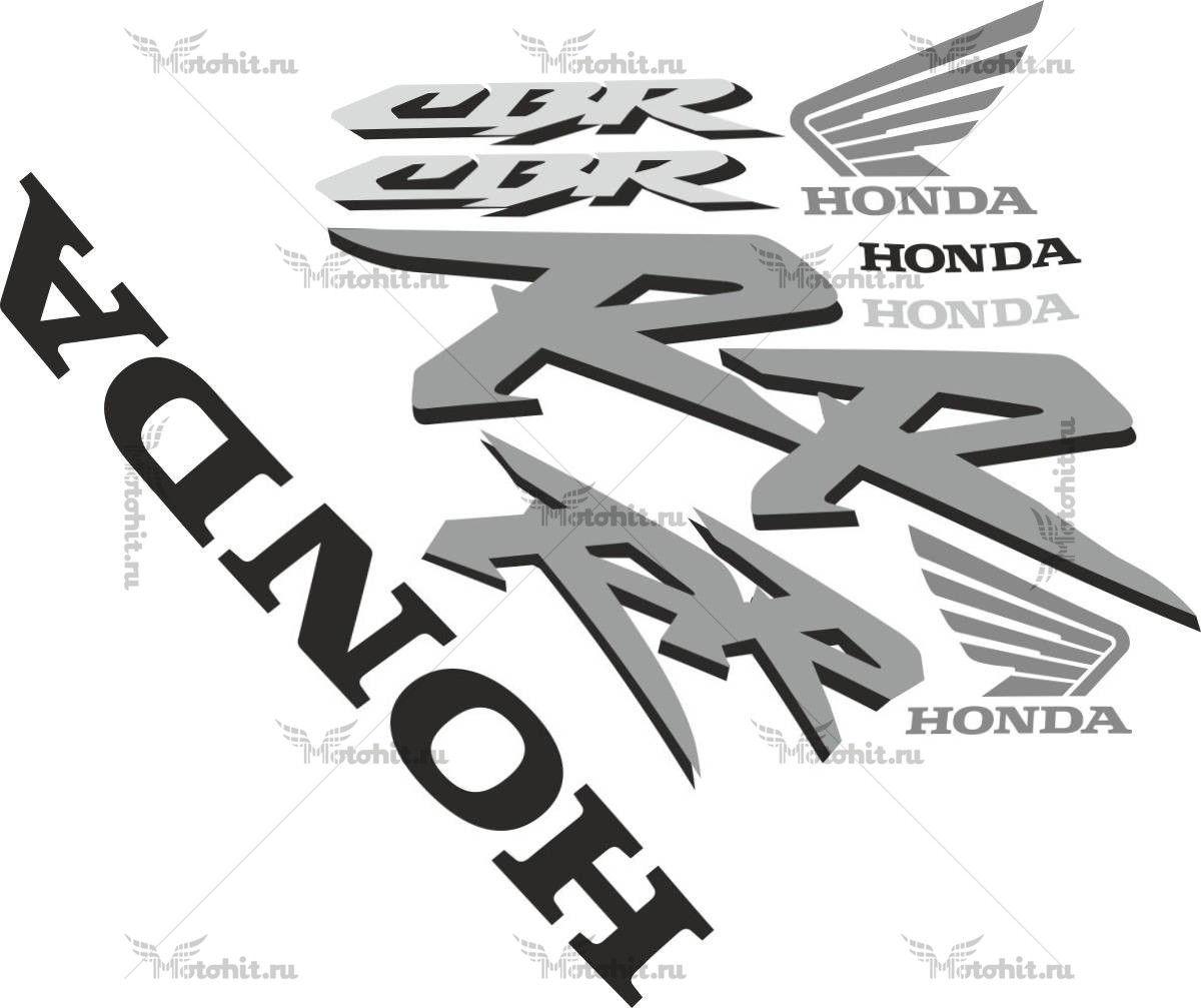 Комплект наклеек Honda CBR-954-RR (29-19)-TXT