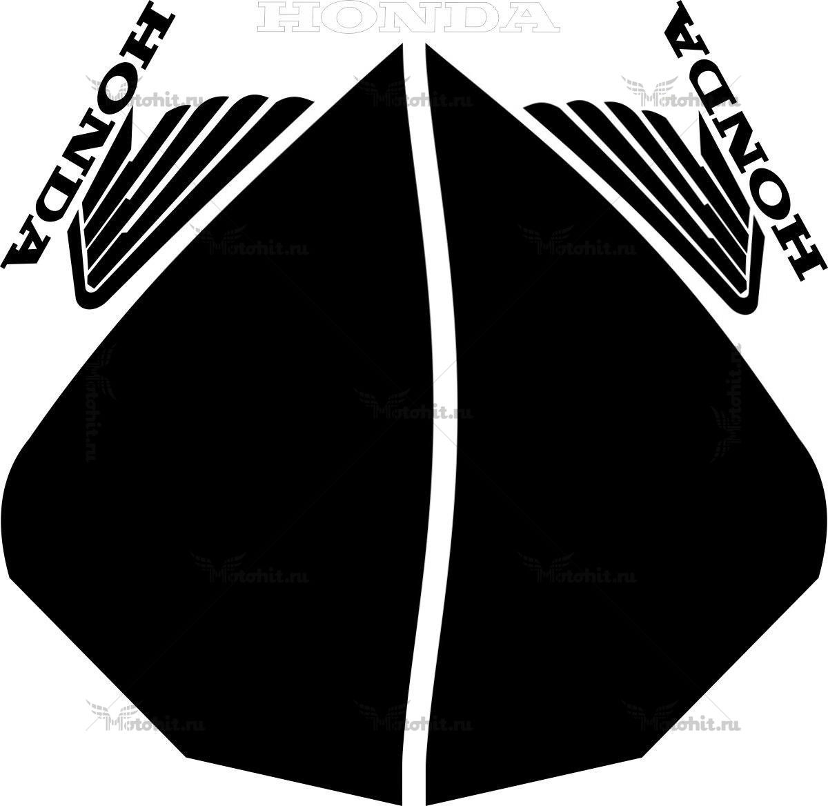 Комплект наклеек Honda CBR-954-RR 2002 PART
