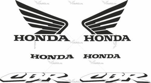 Комплект наклеек Honda CBR-954-RR 2002 TXT