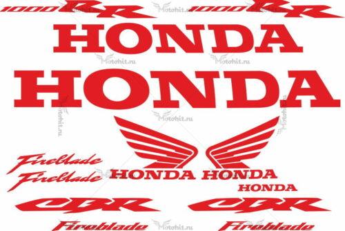Комплект наклеек Honda CBR-1000 RR