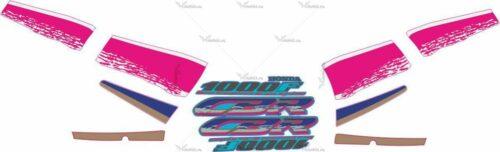 Комплект наклеек Honda CBR-1000 1993