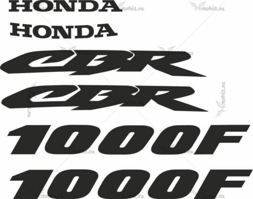 Комплект наклеек Honda CBR-1000-F