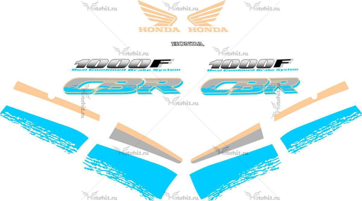 Комплект наклеек Honda CBR-1000-F 2