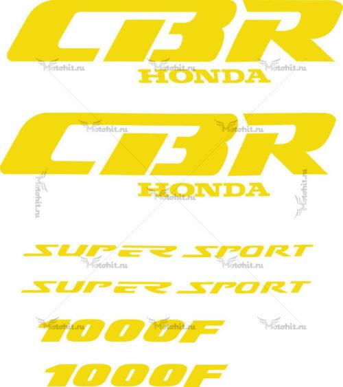 Комплект наклеек Honda CBR-1000-F 1991